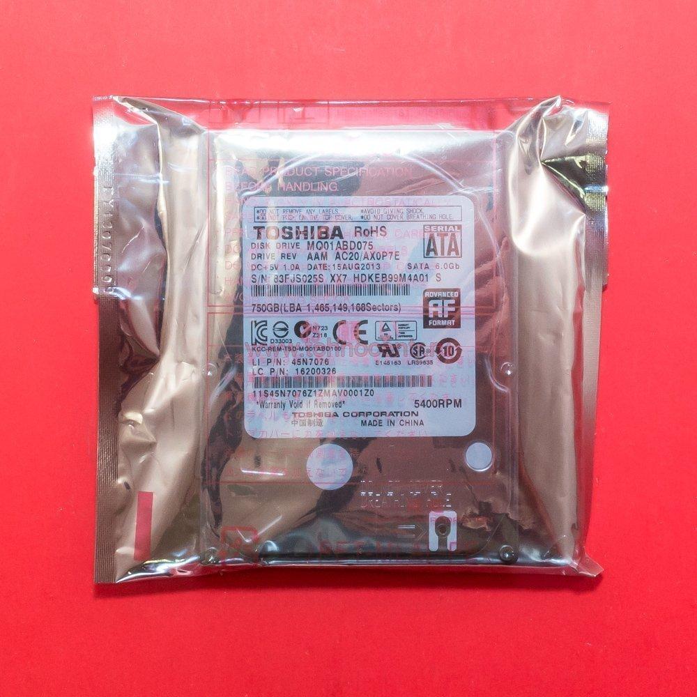 """Жесткий диск 2.5"""" 750 Gb Toshiba MQ01ABD075"""