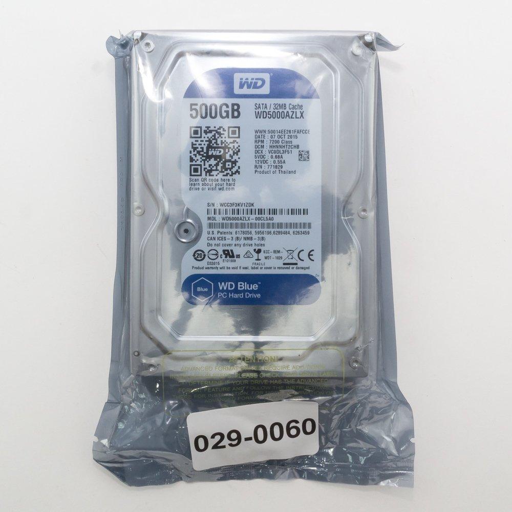 """Жесткий диск 3.5"""" 500 Gb WD5000AZLX"""