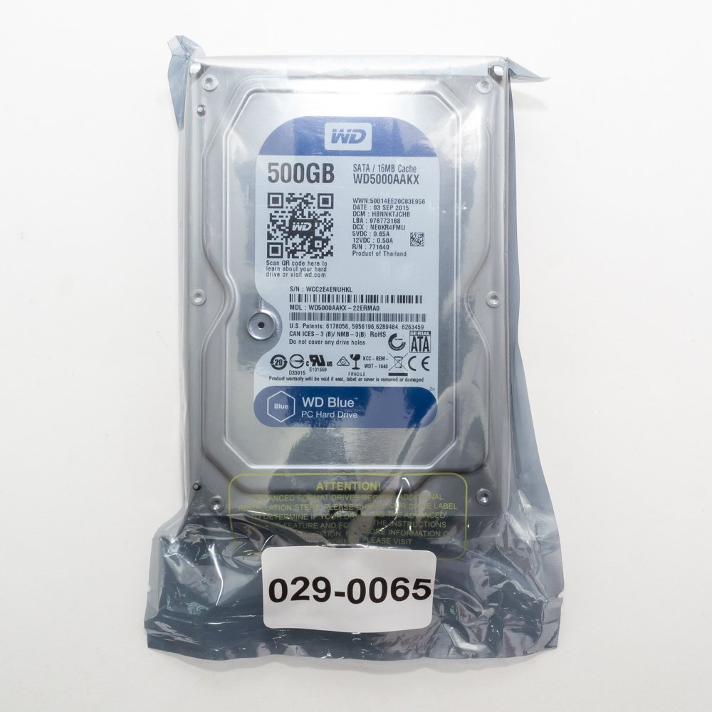"""Жесткий диск 3.5"""" 500 Gb WD5000AAKX"""