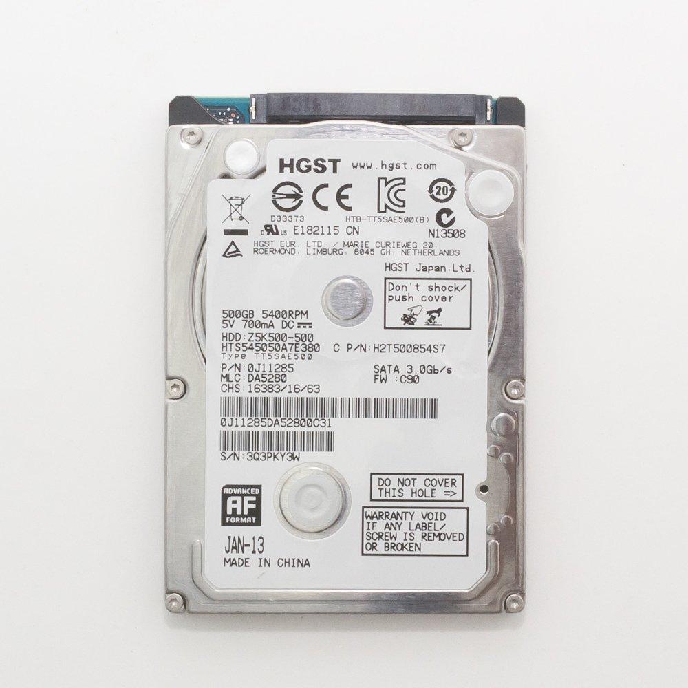 """Жесткий диск 2.5"""" 500 Gb HGST HTS545050A7E380"""