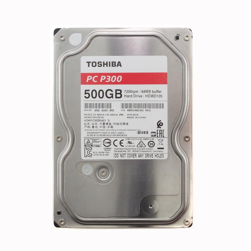 """Жесткий диск 3.5"""" 500 Gb Toshiba HDWD105UZSVA"""