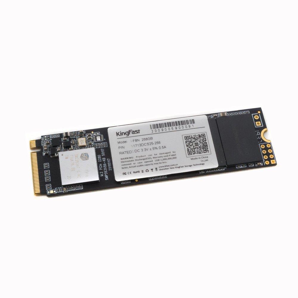 Жесткий диск SSD M.2 2280 NVMe 256Gb KingFast F8N (OEM)