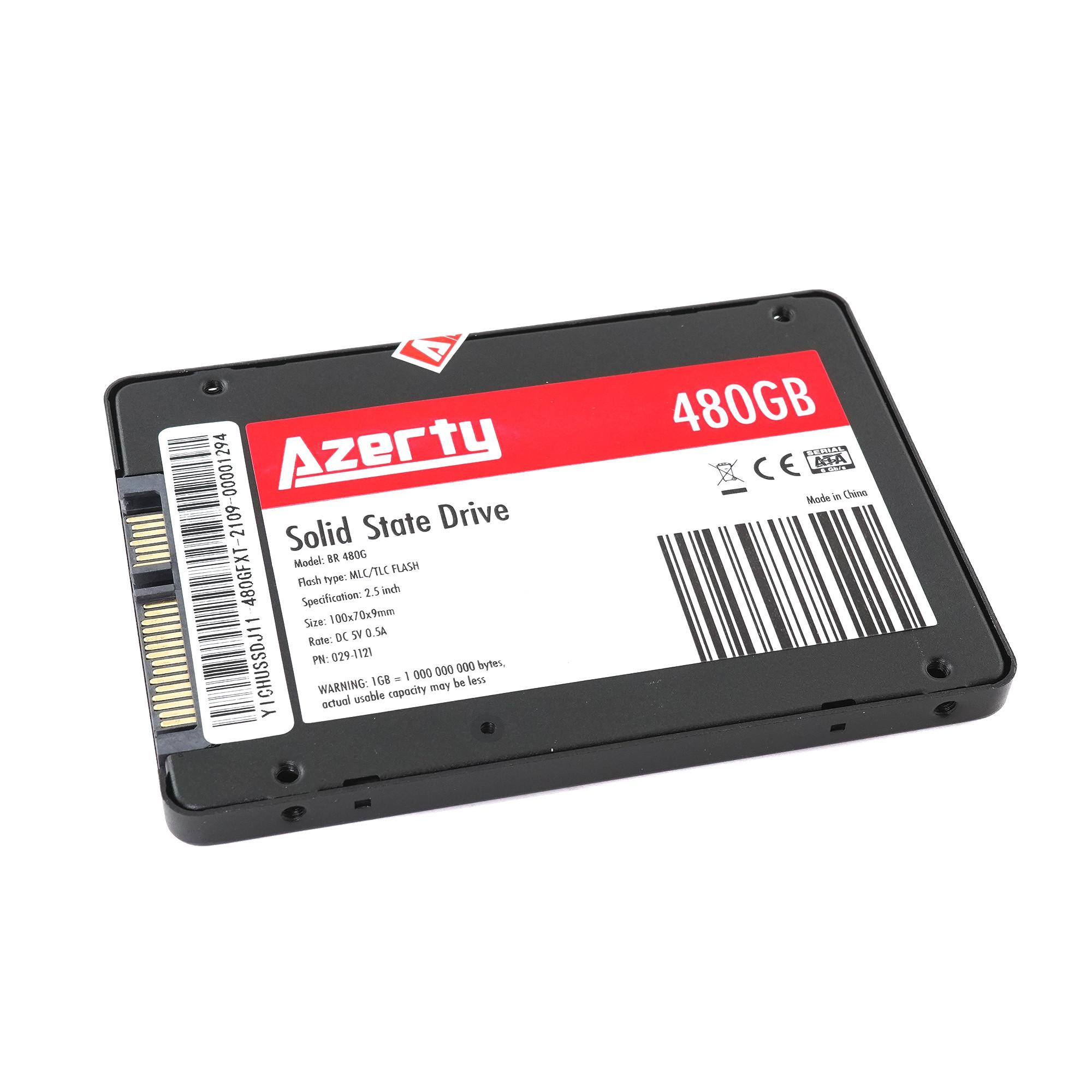 "Жесткий диск SSD 2.5"" 480Gb Azerty BR 480G"