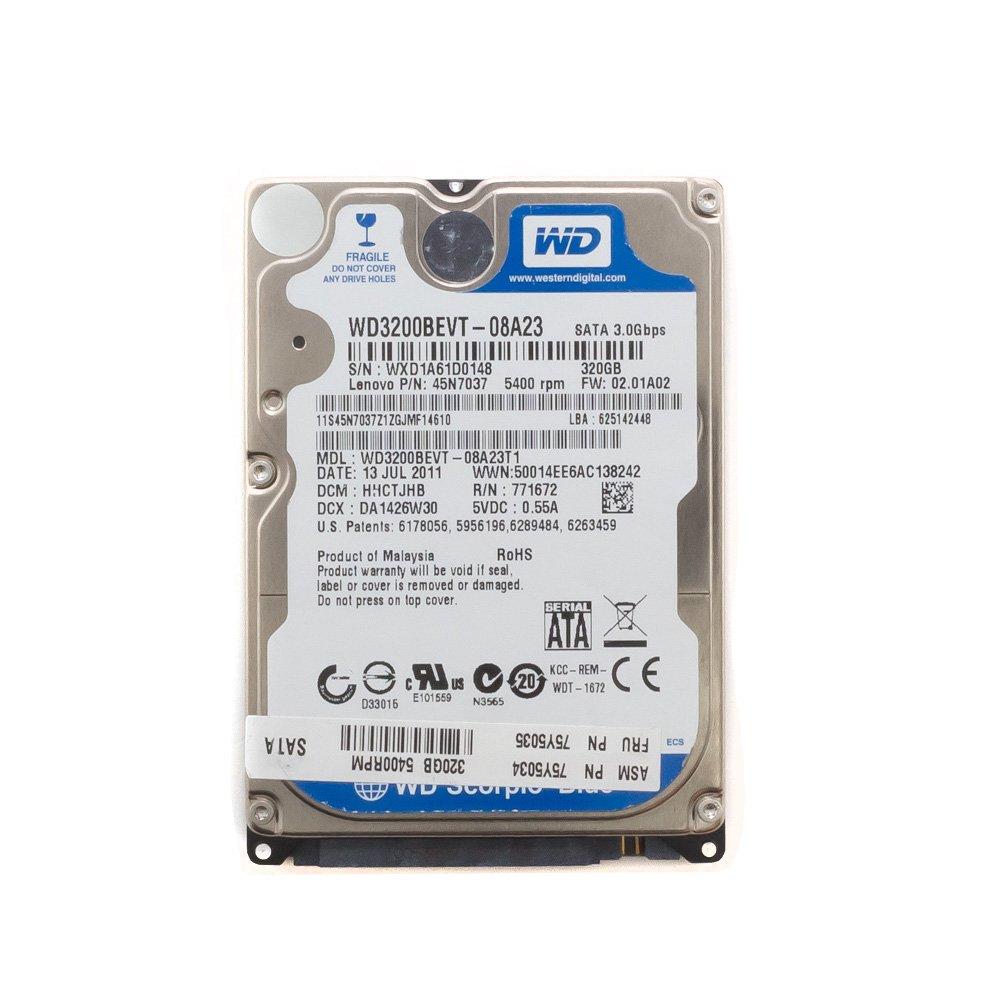 """Жесткий диск 2.5"""" 320 Gb WD3200BEVT"""