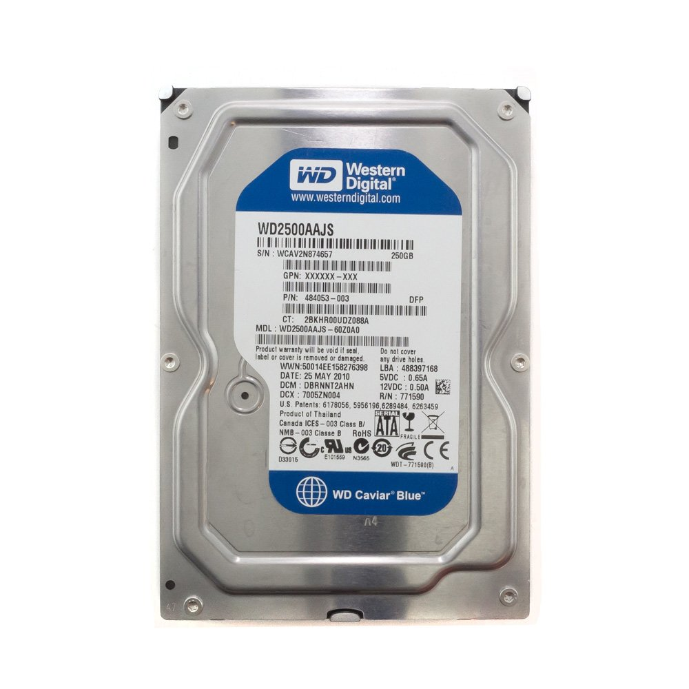 "Жесткий диск 3.5"" 250 Gb WD2500AAJS"