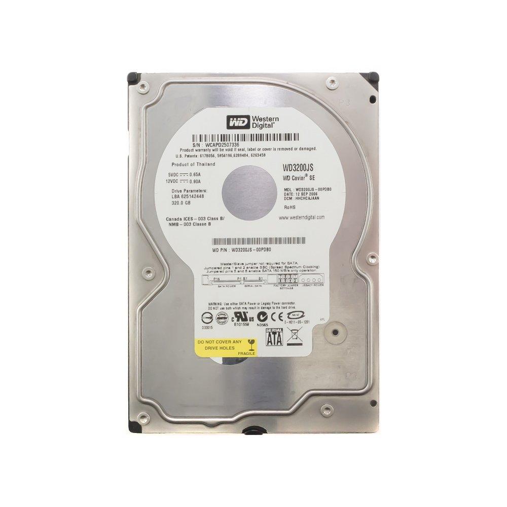 """Жесткий диск 3.5"""" 320 Gb WD3200JS"""