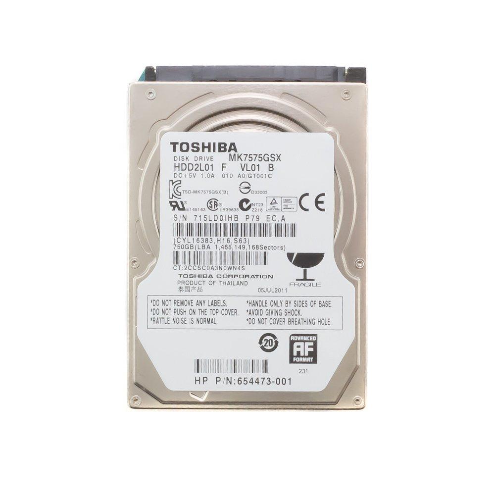 "Жесткий диск 2.5"" 750 Gb Toshiba MK7575GSX"