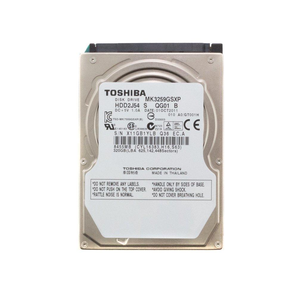 "Жесткий диск 2.5"" 320 Gb Toshiba MK3259GSXP"