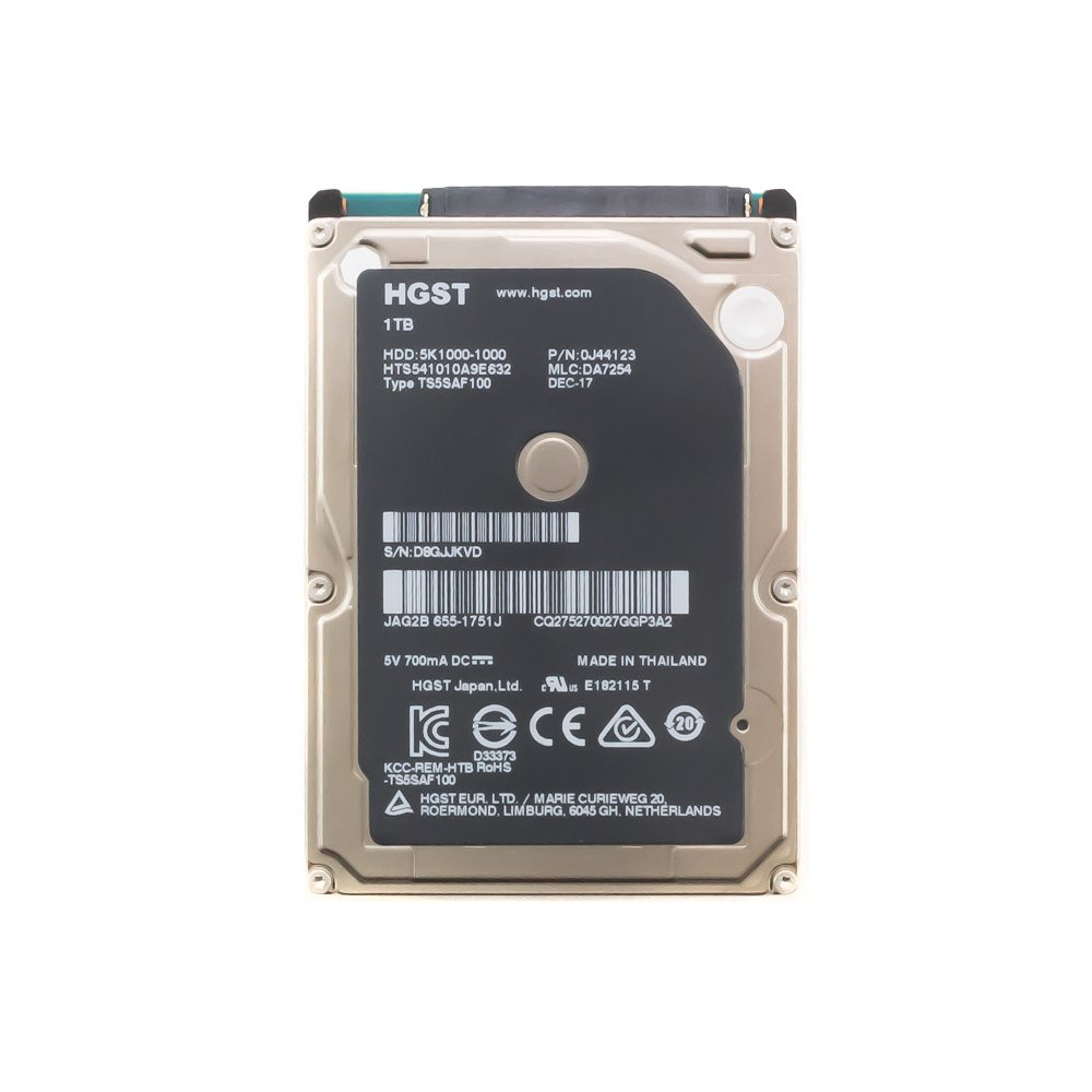 """Жесткий диск 2.5"""" 1 Tb HGST HTS541010A9E632"""