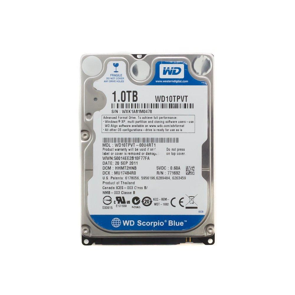 "Жесткий диск 2.5"" 1 Tb WD10TPVT (12,5 мм)"
