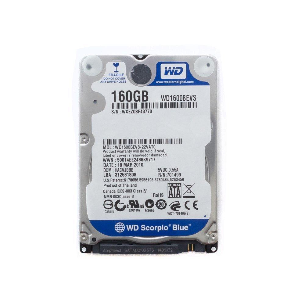 "Жесткий диск 2.5"" 160 Gb WD1600BEVS"