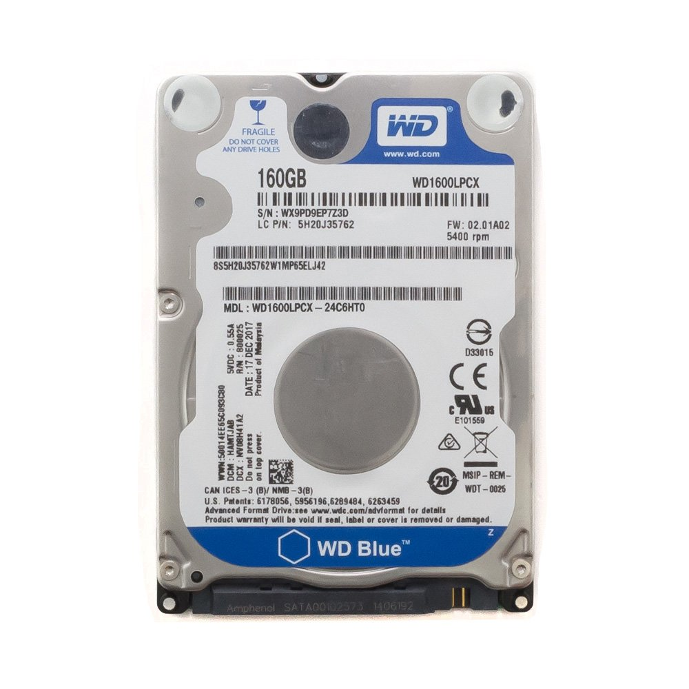 Жесткий диск WD1600LPCX