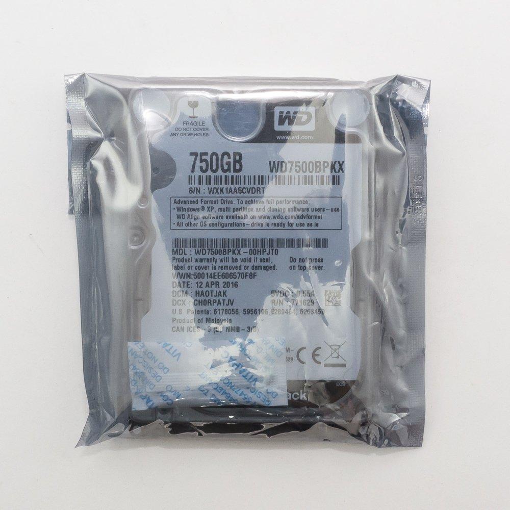 "Жесткий диск 2.5"" 750 Gb WD7500BPKX"