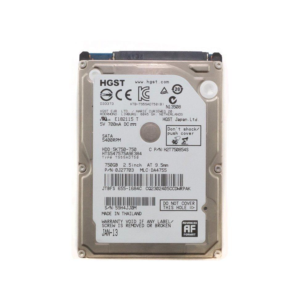 """Жесткий диск 2.5"""" 750 Gb HGST HTS547575A9E384"""