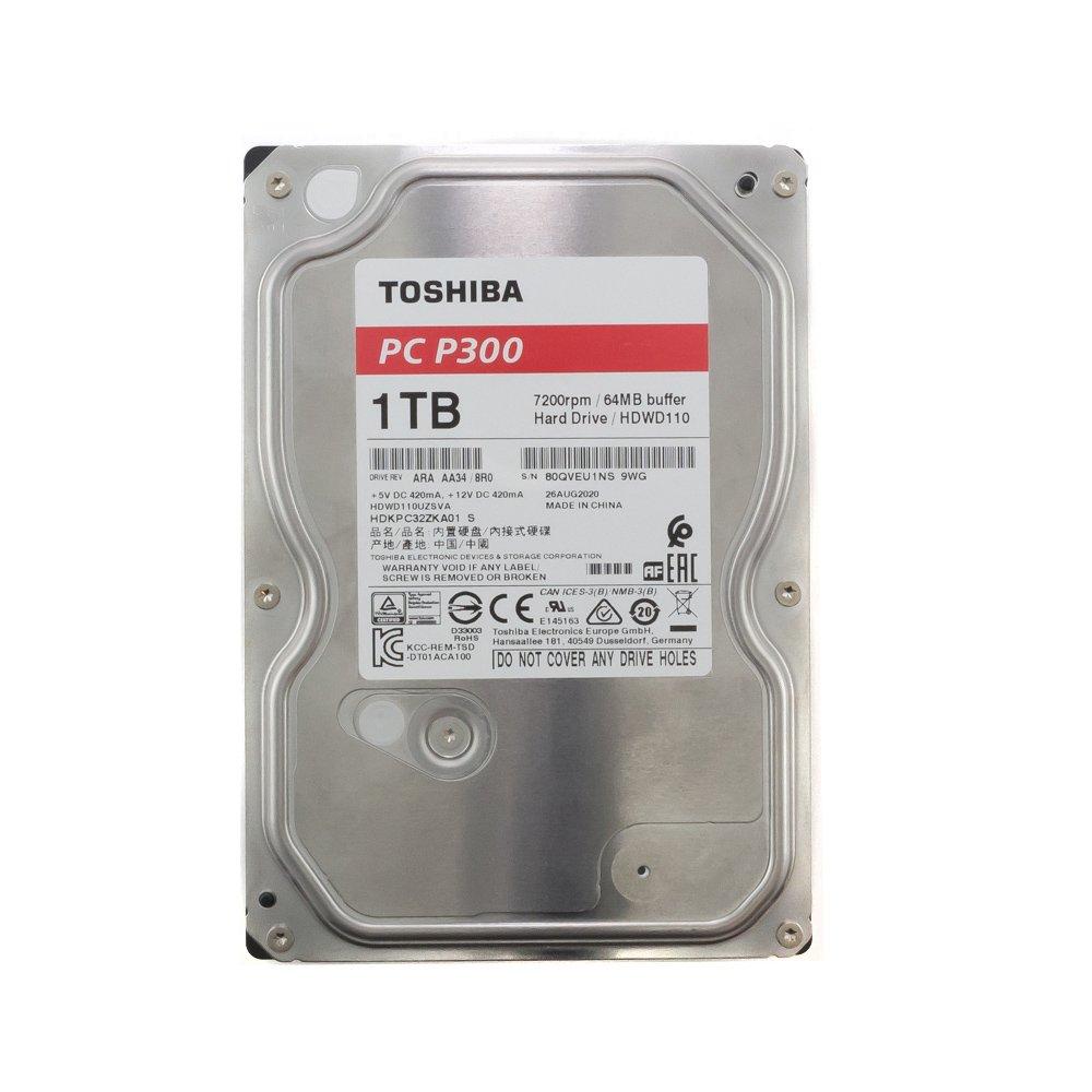 """Жесткий диск 3.5"""" 1 Tb Toshiba HDWD110UZSVA"""