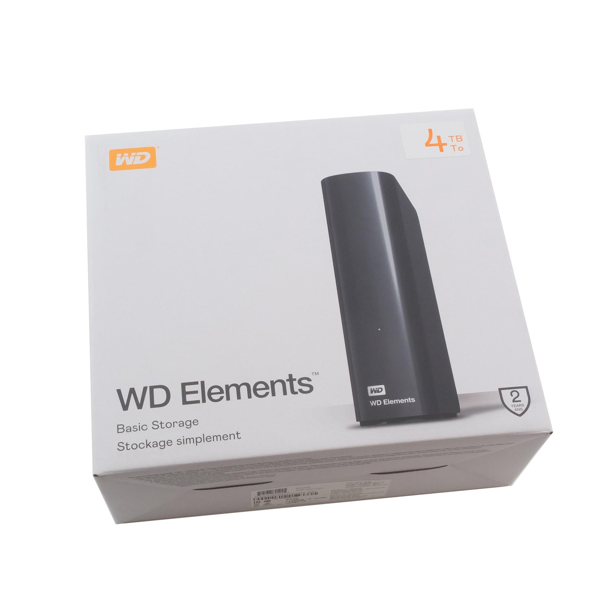"""Внешний жесткий диск USB 3.0 3.5"""" 4Tb WD WDBWLG0040HBK-EESN"""