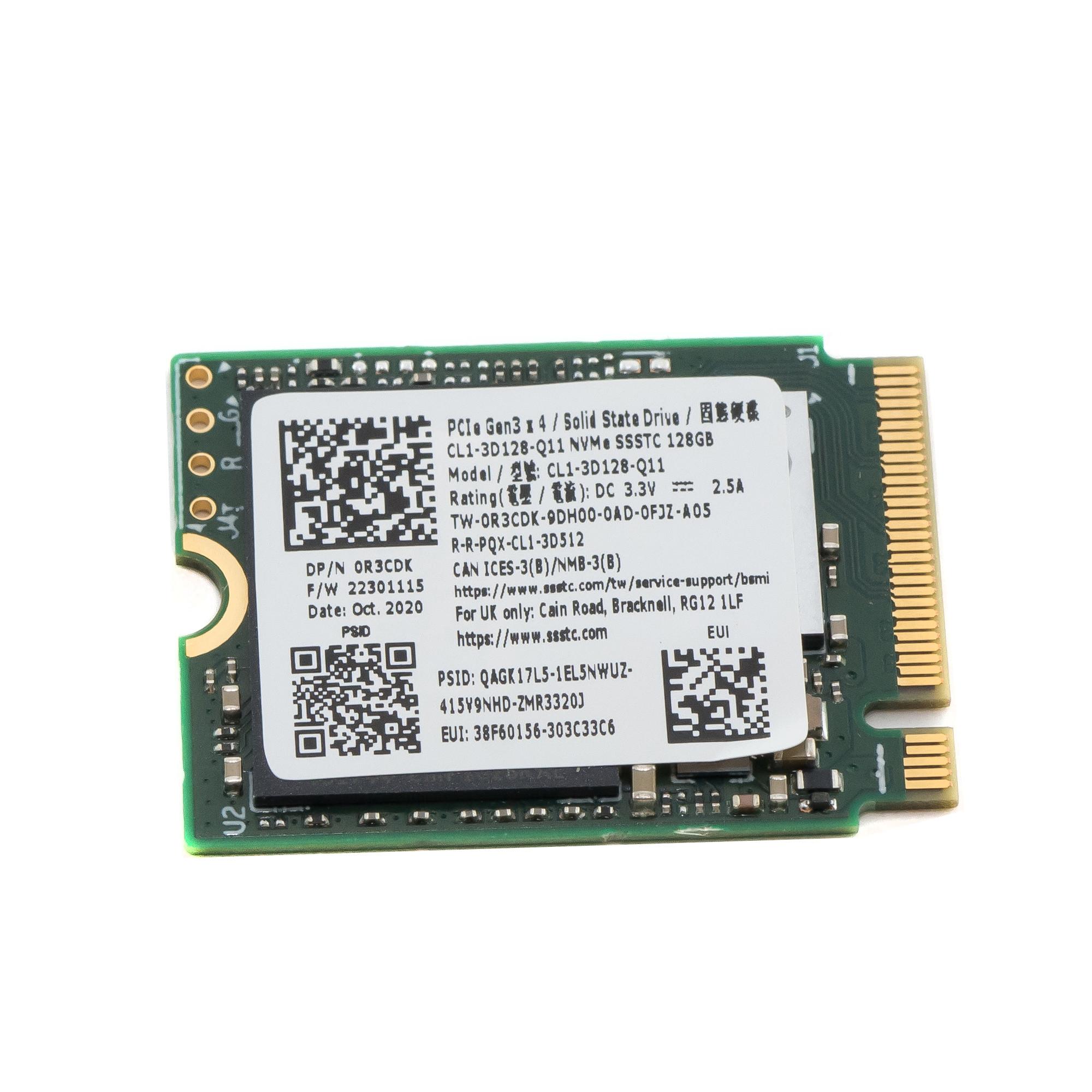 Жесткий диск SSD M.2 2230 NVME 128Gb SSSTC CL1-3D128-Q11