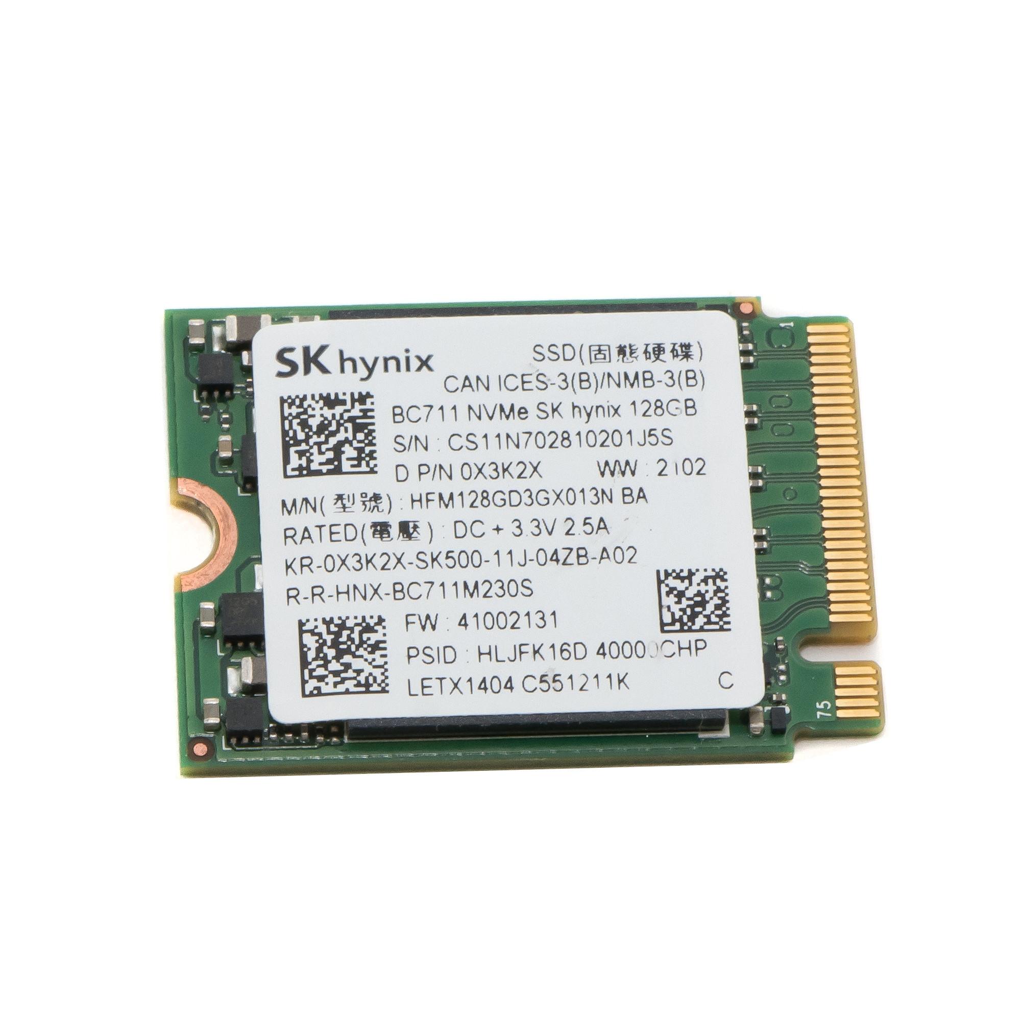 Жесткий диск SSD M.2 2230 NVME 128Gb Hynix BC711