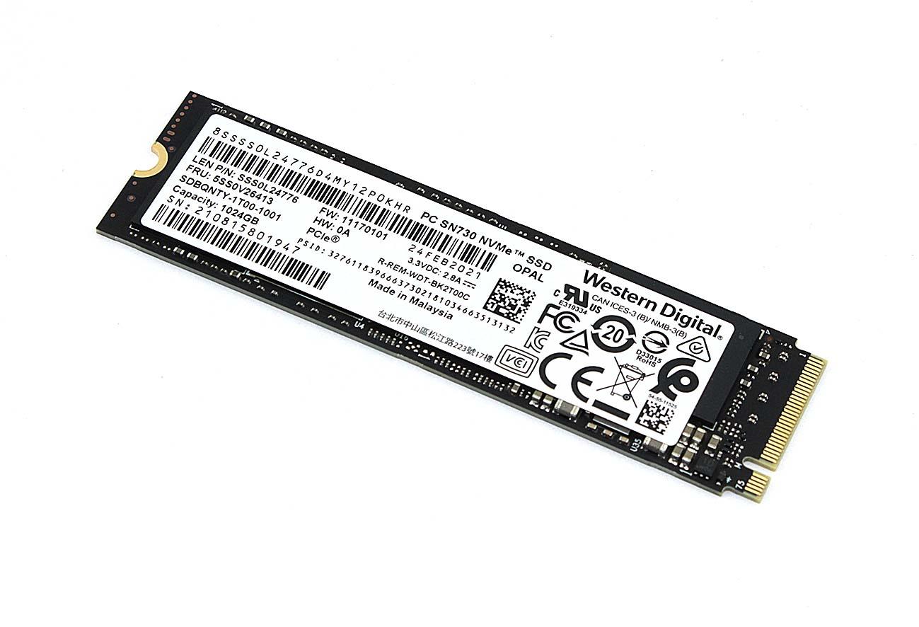 SSD PCIe 1024Gb Western Digital PC SN730 NVMe