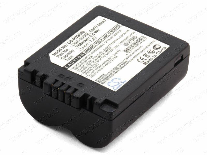 Аккумулятор для фотоаппарата Panasonic Lumix DMC-FZ38