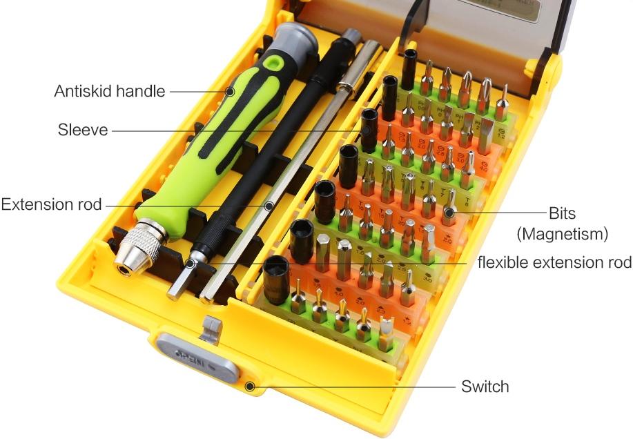 Набор инструментов 45 в 1  BST-8913