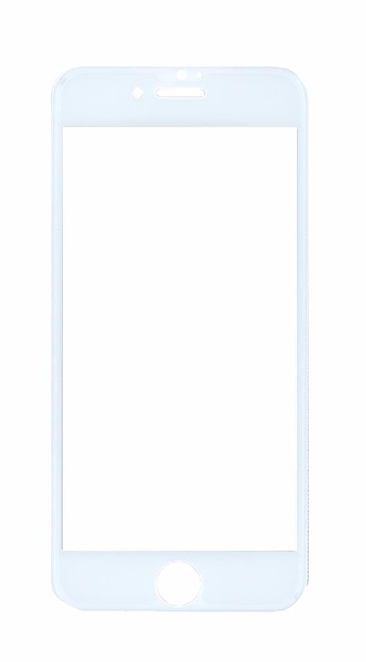 Защитное стекло 4D для Apple iPhone 7/8 белое