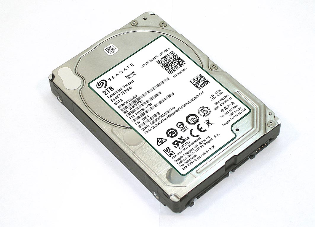 "Жесткий диск HDD 2,5"" 2TB Seagate ST2000NX0403"