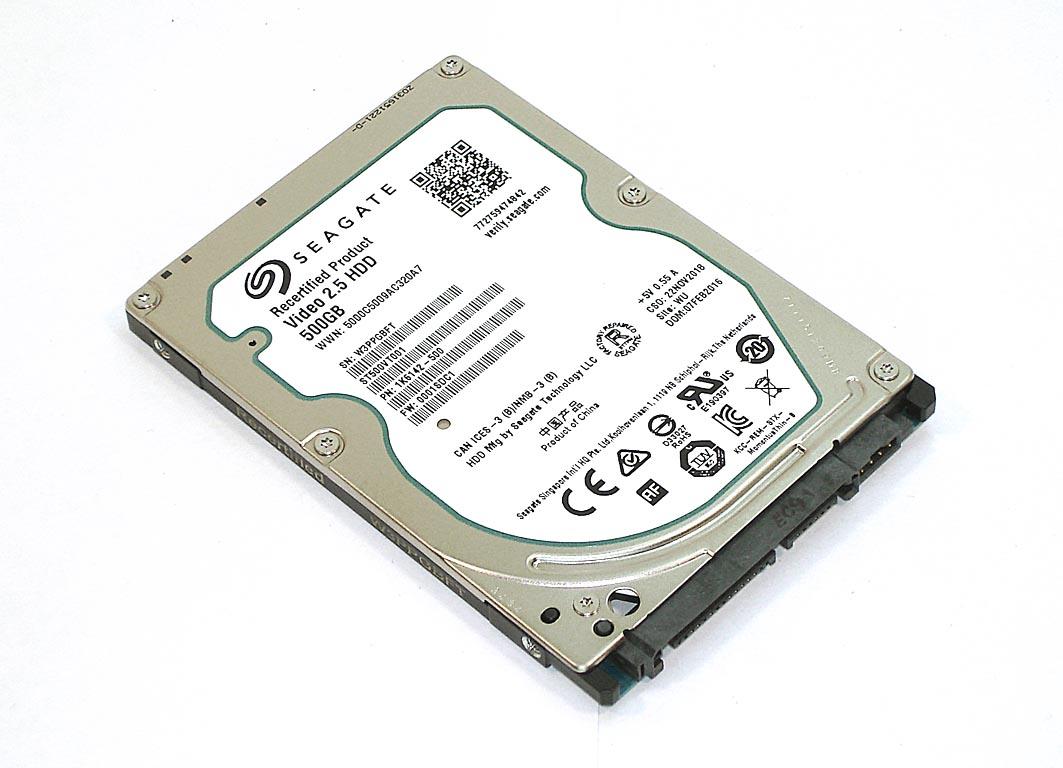 "Жесткий диск HDD 2,5"" 500GB Seagate ST500VT001"