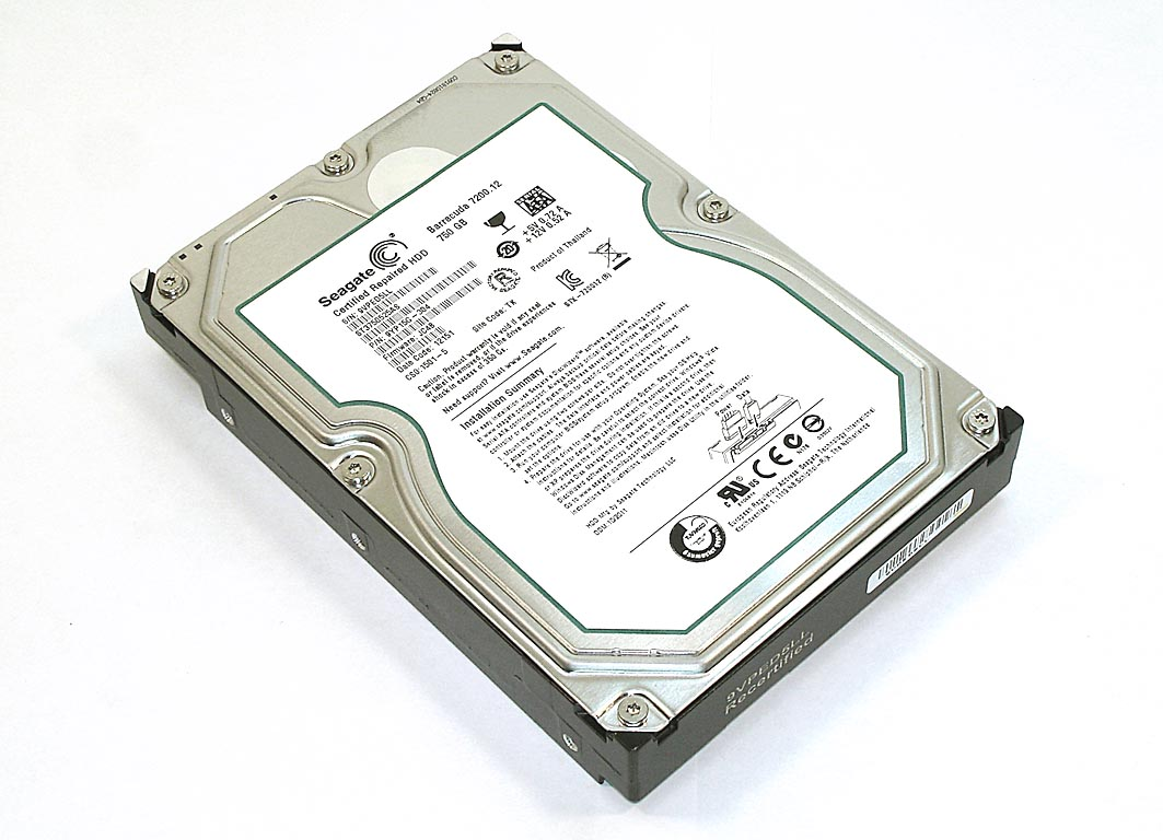 "Жесткий диск HDD 3,5"" 750GB Seagate ST3750525AS"