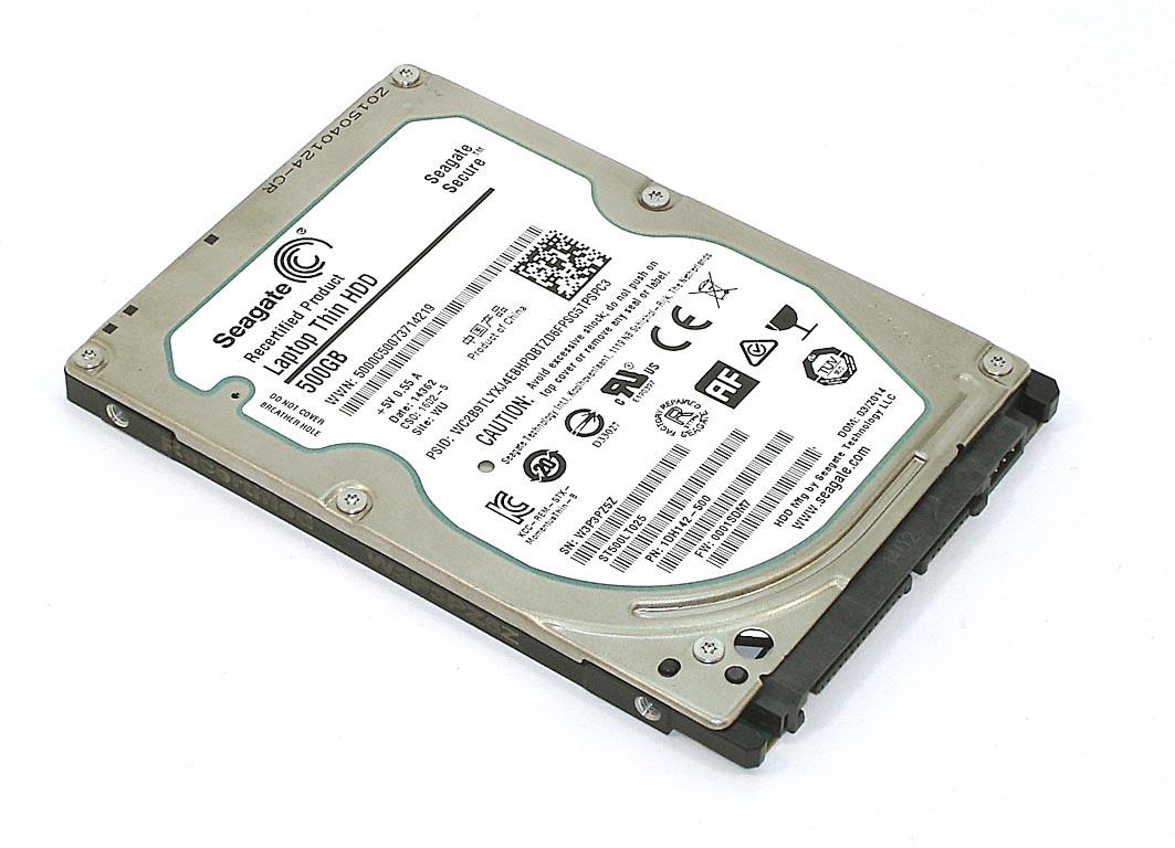 "Жесткий диск HDD 2,5"" 500 Gb Seagate  ST500LT025"
