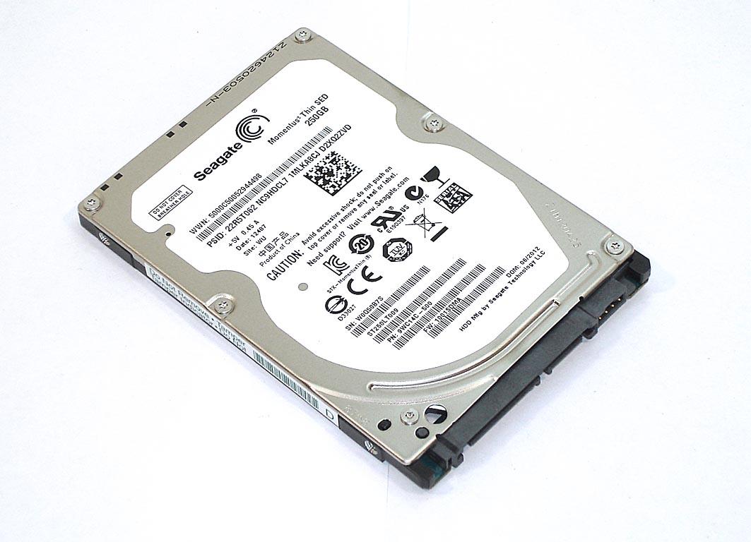 "Жесткий диск HDD 2,5"" 250GB Seagate ST250LT009"