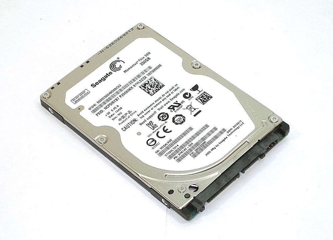 "Жесткий диск HDD 2,5"" 250GB Seagate ST250LT014"