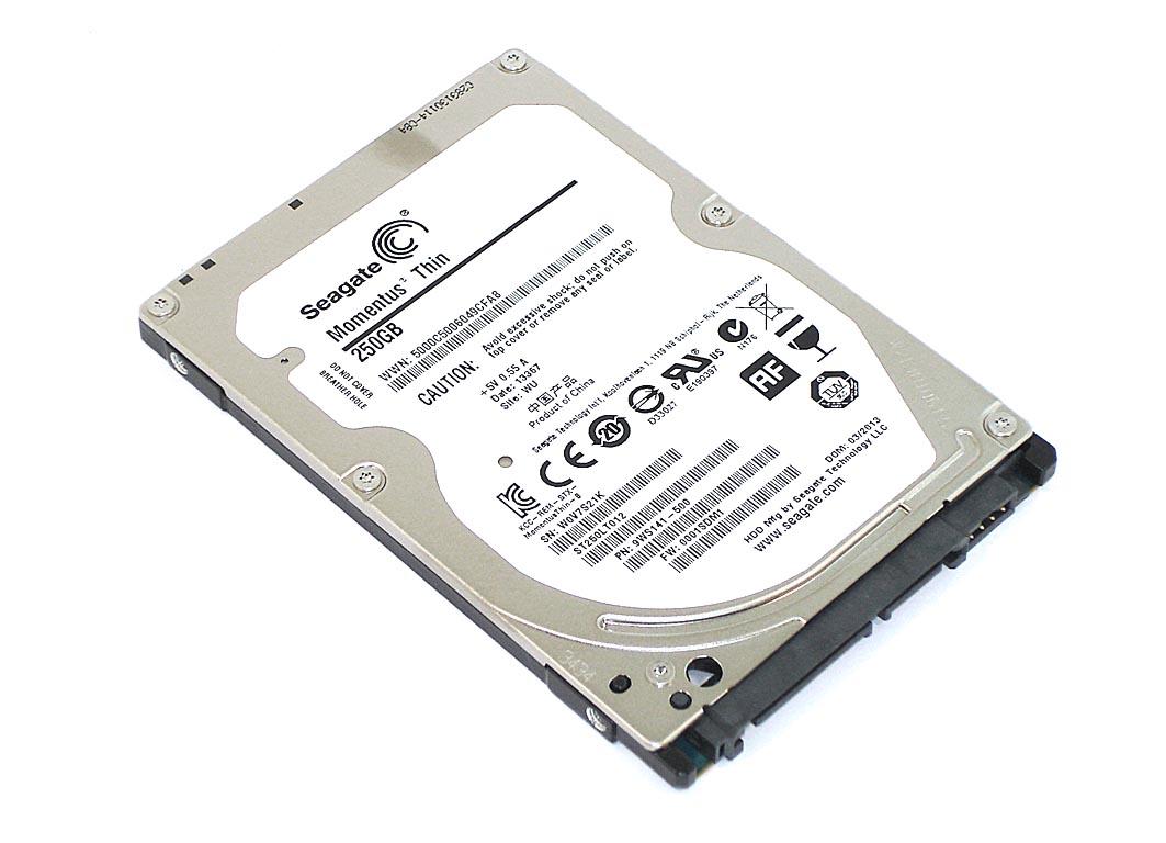 "Жесткий диск HDD 2,5"" 250GB Seagate ST250LT012"