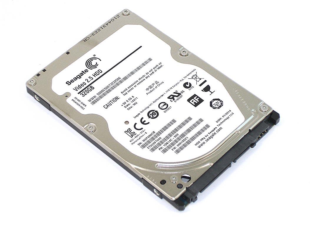 Жесткий диск Seagate Video 2.5 HDD 320 GB ST320VT000