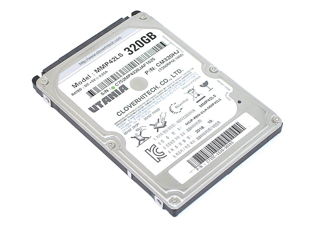 """Жесткий диск HDD 2,5"""" 320GB UTANIA MMP42LS"""