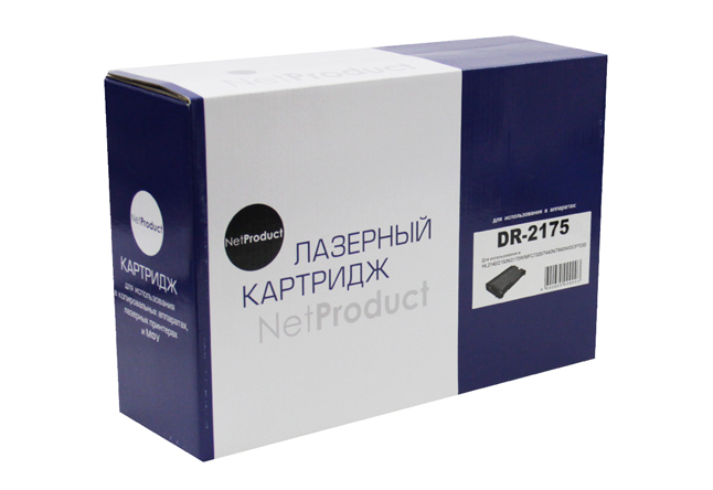 Драм-юнит NetProduct (N-DR-2175) для Brother HL-2140/2150/2170/7030/7040, 12K
