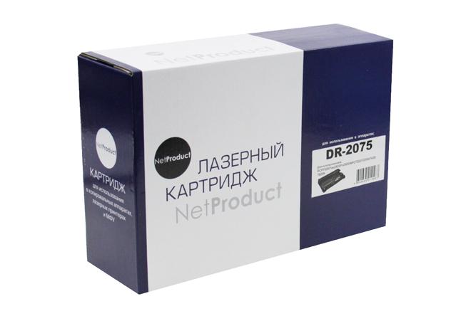 Драм-юнит NetProduct (N-DR-2075) для Brother HL-2030/2040/2070/ DCP-7010/7420/7820, 12K