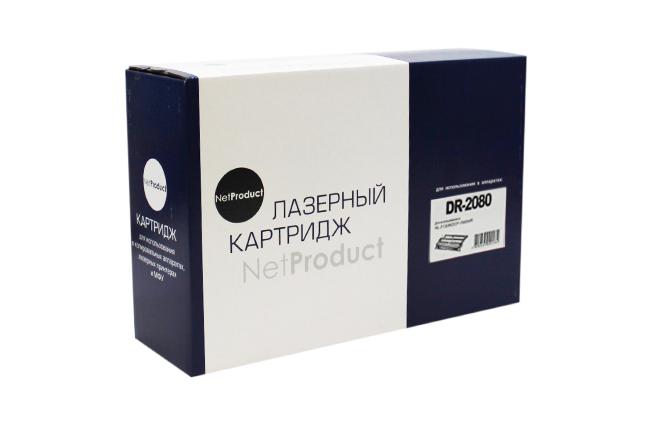Драм-юнит NetProduct (N-DR-2080) для Brother HL-2130R/DCP-7055WR, 12K