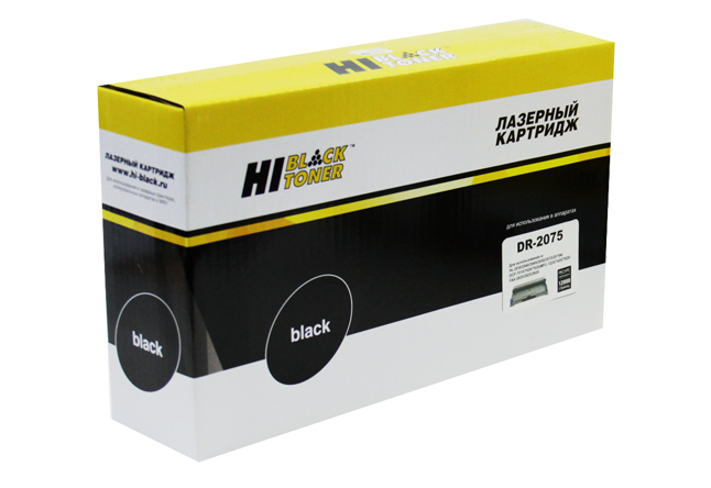 Драм-юнит Hi-Black (HB-DR-2075) для Brother HL-2030/2040/2070/ DCP-7010/7420/7820, 12K