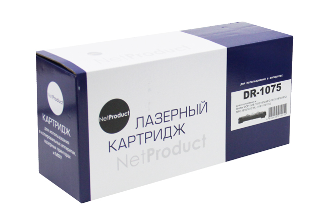 Драм-юнит NetProduct (N-DR-1075) для Brother HL-1010R/1112R/DCP-1510R/1512R/MFC-1810R, 10K