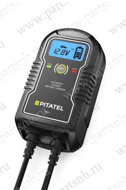Автоматическое зарядное устройство для автомобильных аккумуляторов Pitatel CBC-4, 6, 12В, 4А