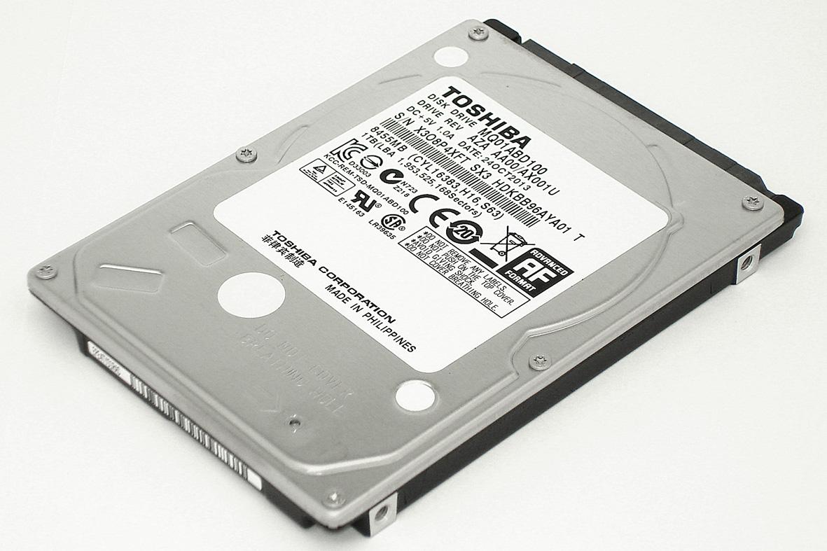 "Жесткий диск для Toshiba 2.5"", 1Tb, SATA II"