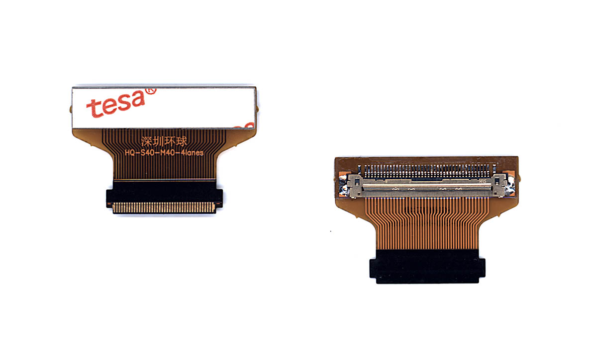 Переходник для матриц 40 (20мм) to 40 (25мм) edp HQ-S40-M40-4Lanes