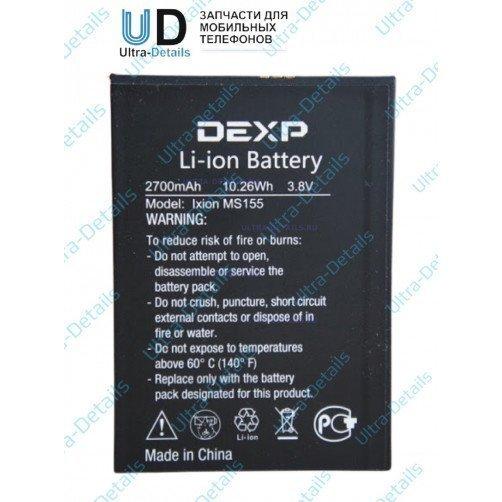 Аккумулятор для DEXP Ixion MS155