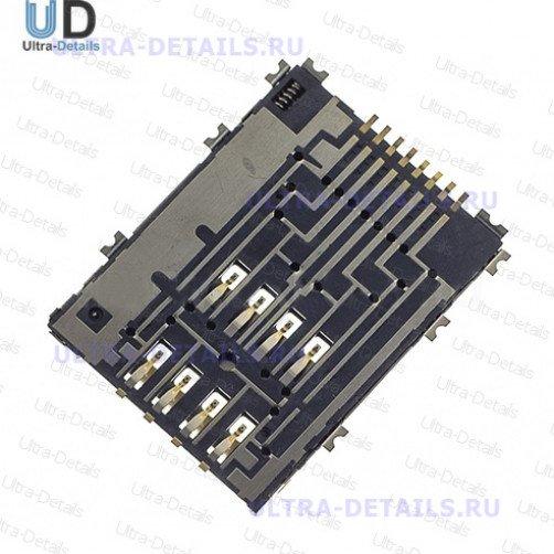 Коннектор SIM для Samsung P5100