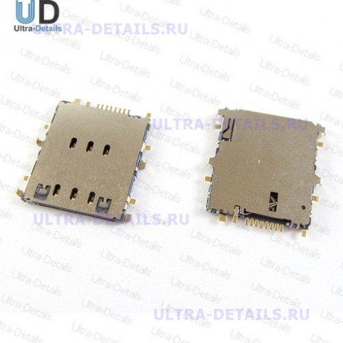 Коннектор SIM для Samsung P5200, T111, T285, T311, T325, T331, T531, T561, T705