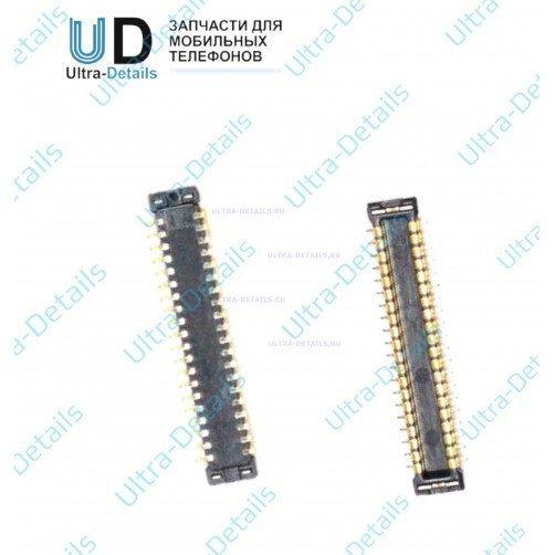Коннектор дисплея для Samsung A320