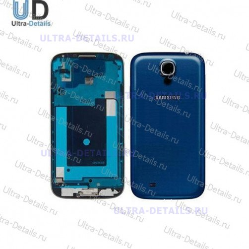 Корпус для Samsung S4 (i9500) синий