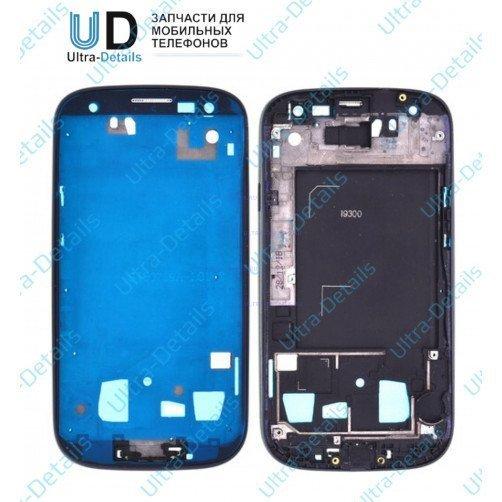 Рамка дисплея для Samsung S3 (i9300) синий