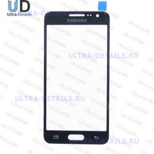 Стекло для Samsung A300F (черный)